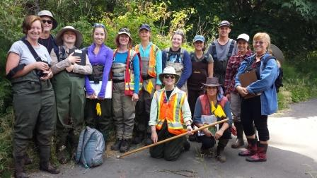 Successful Wetlandkeepers in Campbell River